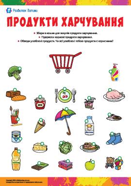 Продукти харчування: розпізнаємо товари