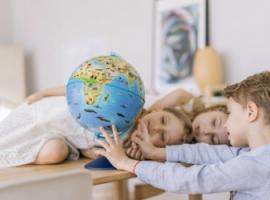 Глобус для дитини – найкращий інструмент пізнання світу