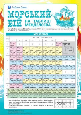 Морський бій на таблиці Менделєєва