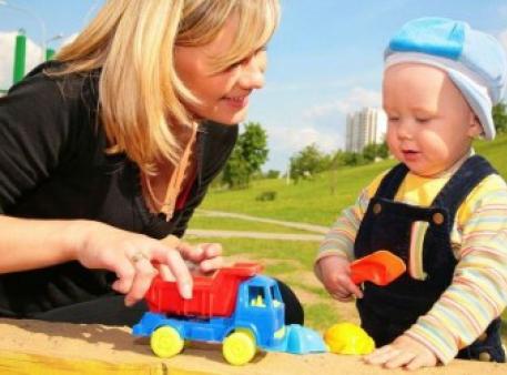 Ігровий час для малюків від одного до двох років