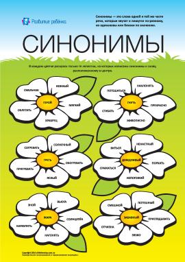 Вивчаємо синоніми: №2 (російська мова)