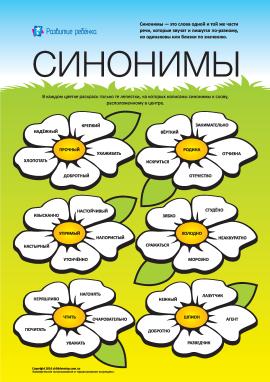 Вивчаємо синоніми: №6 (російська мова)