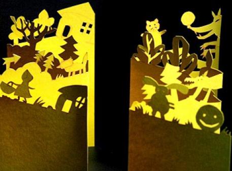 Ілюструємо казки в техніці «paper cutting»