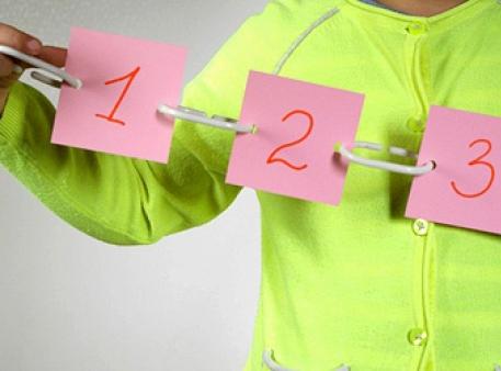 Збираємо ланцюжок з цифрами у певному порядку