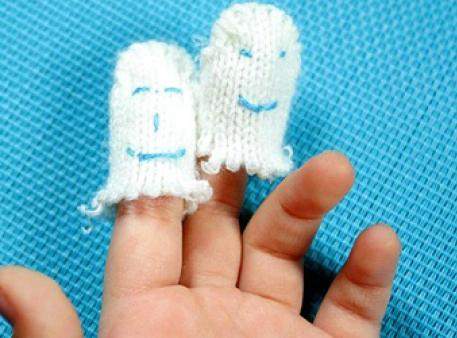 Найпростіші пальчикові іграшки за 5 хвилин