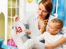 Початкове знайомство дітей з літерами й цифрами