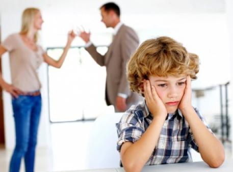 Конфлікти подружжя у присутності дітей