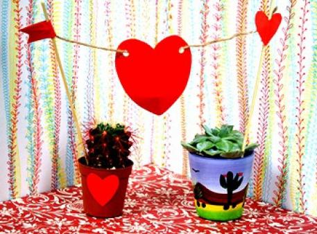 Романтичний топпер для ваших домашніх рослин