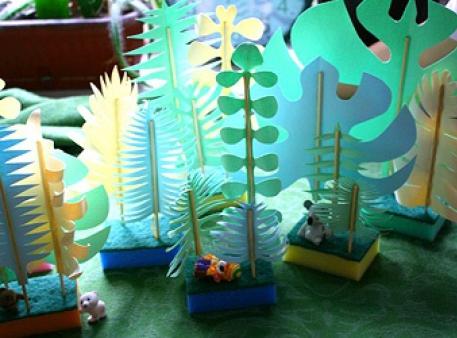 Джунглі своїми руками — дитячі ігрові декорації