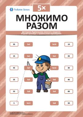 Множимо разом № 5: учимо таблицю множення