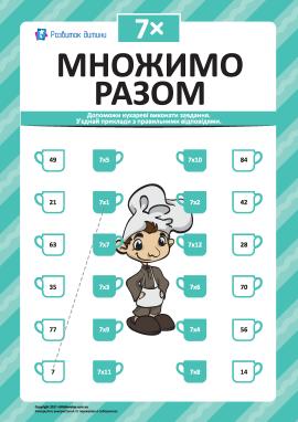 Множимо разом № 7: учимо таблицю множення