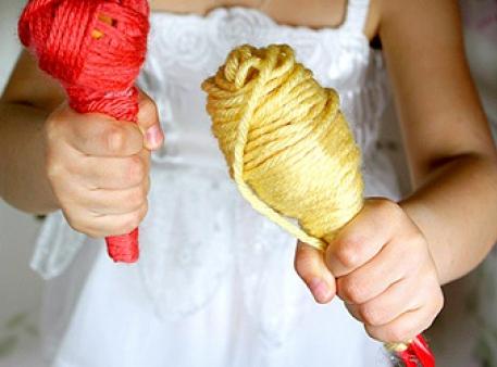 Як зробити дитячі маракаси своїми руками