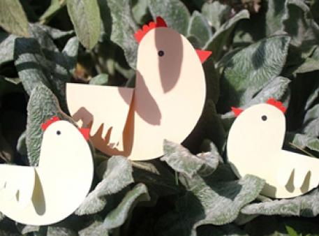 Курочка з курчатами: проект для найменших
