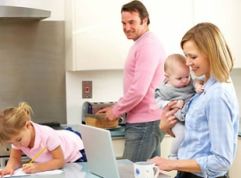 Зберігаємо баланс між сім'єю й роботою