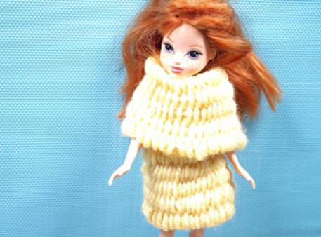 Плетемо шарф для іграшки: урок дитячого рукоділля