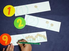 Арифметична гра - вивчаємо перший десяток