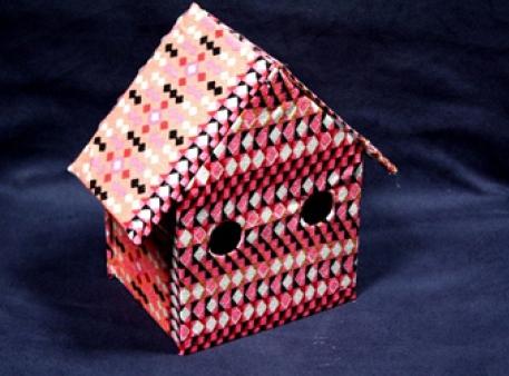 Картонний будиночок своїми руками
