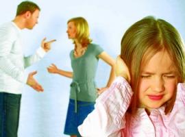 Негативний вплив сварок батьків на дітей
