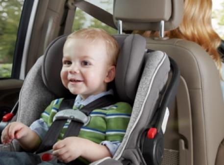 Допомога дитині при захитуванні в транспорті