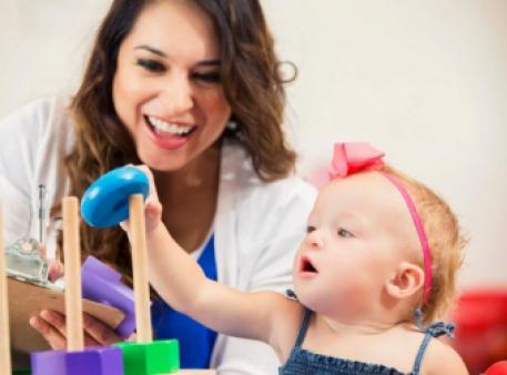 Діти вчаться наполегливості в дорослих
