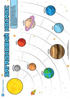 Загадковий космос: планети, зірки