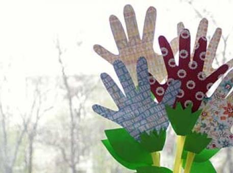 Квіти своїми руками зі скрап-паперу й трубочок