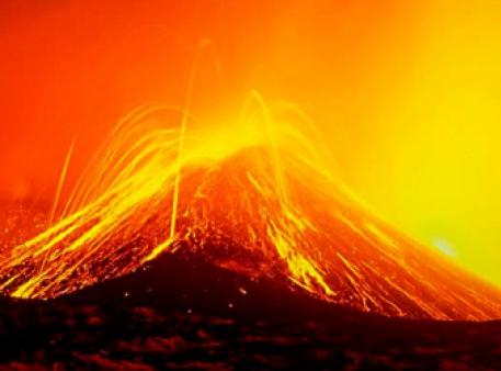 Справжній міні-вулкан в домашніх умовах