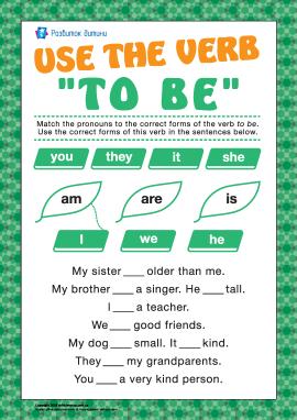"""Учимося використовувати дієслово """"to be"""" в теперішньому часі"""