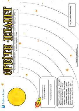 Вивчаємо порядок планет Сонячної системи