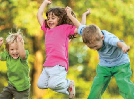 Корисність ігор на відкритому повітрі для дітей