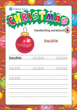 Різдвяний словничок: bauble