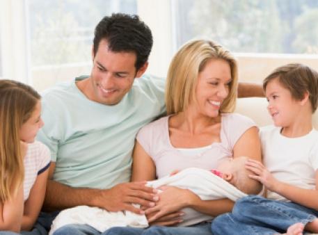 Виховання дітей у родині середнього достатку