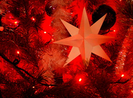 Паперова зірка: декоруємо будинок своїми руками