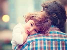 Дайте дитині відчути, що її люблять