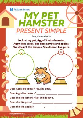 Вживаємо Present Simple, описуючи вподобання (англійська мова)