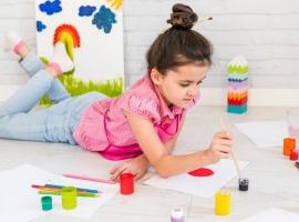 Малювання – кращий засіб від дитячого стресу