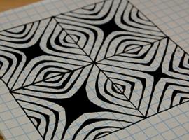 Ефектна 3D-графіка: Зентангл (Zentangle)
