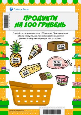 Продукти на 100 гривень: обираємо, що можна купити
