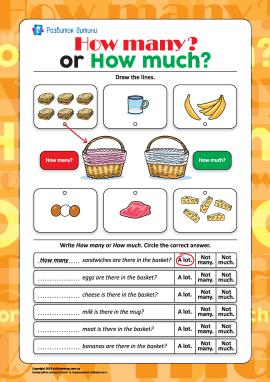 Розрізняємо How many? і How much? (англійською мовою)