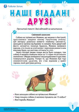 Історії про відданих тварин: пес Жевжик