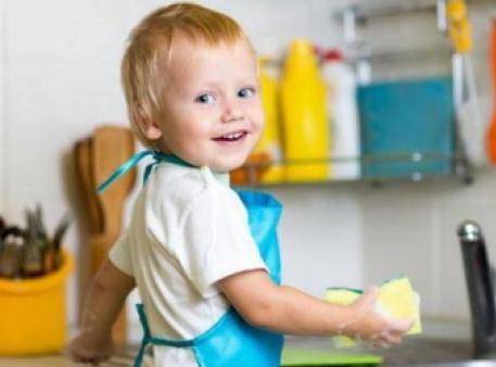 Користь домашніх обов'язків для дітей