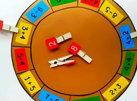 Математичне колесо: вчимося рахувати весело