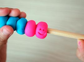 Пластилінова рахівниця: вчимося додавати