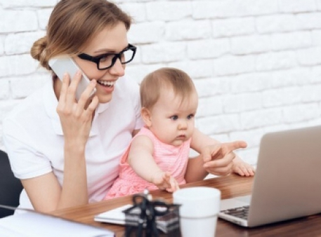 Як працювати віддалено, якщо в будинку є діти
