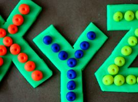 Абетка: поєднуємо властивості лего і пластиліну