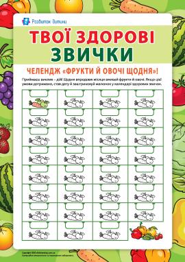 Твої здорові звички: харчування з користю