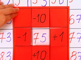Математичний плакат: вивчаємо десятки й одиниці