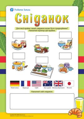Сніданок: кухня народів світу