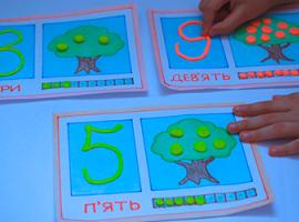 Арифметика і пластилін: дитячий урок з числами