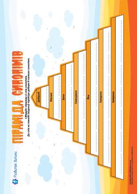 «Будуємо» піраміду зі слів-синонімів